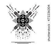 vector illustration   ethnic...   Shutterstock .eps vector #472236304