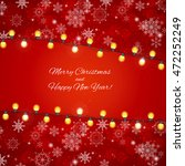 abstract beauty merry christmas ... | Shutterstock .eps vector #472252249