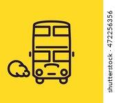 Double Decker Bus Icon. London...