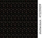 grid seamless pattern.... | Shutterstock .eps vector #472259059