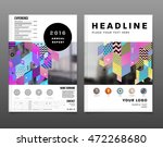 annual report brochure template ... | Shutterstock .eps vector #472268680