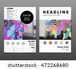annual report brochure template ... | Shutterstock .eps vector #472268680