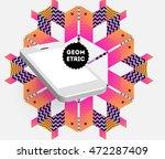 mobile phone icon  trendy... | Shutterstock .eps vector #472287409