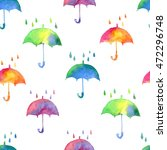 seamless pattern with fresh... | Shutterstock . vector #472296748