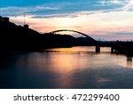 Fort Pitt Bridge In Pittsburgh...