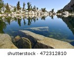 Lone Pine Lake On A Sunny...