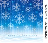 christmas and new year... | Shutterstock .eps vector #472340998