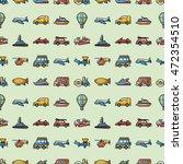 transportation icons set eps10   Shutterstock .eps vector #472354510