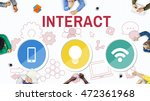 technology communication icons... | Shutterstock . vector #472361968