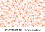 geometric seamless pattern with ... | Shutterstock .eps vector #472366330
