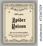 Halloween Apothecary Label In...