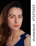 close up portrait of skinny... | Shutterstock . vector #472372423