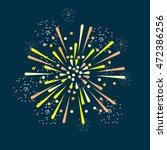 fireworks illustration   Shutterstock .eps vector #472386256