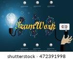 vector illustration flat design ... | Shutterstock .eps vector #472391998