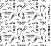 cute birthday seamless pattern... | Shutterstock .eps vector #472395250
