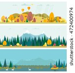 vector flat illustrations   eco ... | Shutterstock .eps vector #472400974