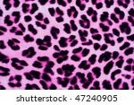 Decorative Leopard Printed Fur...