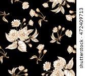 chinese plum white flower.... | Shutterstock .eps vector #472409713