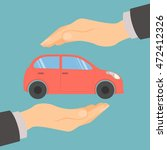 car insurance concept.... | Shutterstock .eps vector #472412326