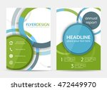 business flyer template ... | Shutterstock .eps vector #472449970