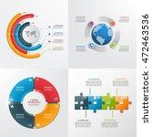 4 steps vector infographic... | Shutterstock .eps vector #472463536