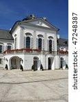 grassalkovich palace  slovak  ... | Shutterstock . vector #47248387