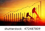 3d illustration of oil pump... | Shutterstock . vector #472487809