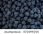 Blackberries Juicy Wild Fruit...