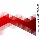 red grid mosaic background ... | Shutterstock .eps vector #472503658