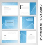 set templates for presentation... | Shutterstock .eps vector #472530850