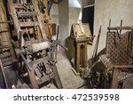medieval torture equipment | Shutterstock . vector #472539598