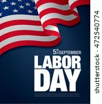 labor day. banner | Shutterstock .eps vector #472540774