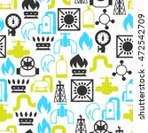 natural gas production ... | Shutterstock .eps vector #472542709