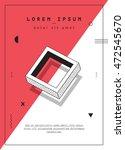 modern design for invitation ... | Shutterstock .eps vector #472545670
