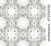 Seamless 3d White Geometric...