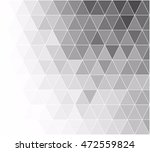 black grid mosaic background ... | Shutterstock .eps vector #472559824