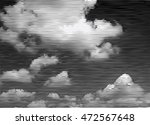 halftone black and white clouds ...   Shutterstock .eps vector #472567648