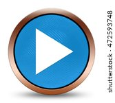 play icon. internet button .3d... | Shutterstock . vector #472593748