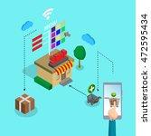 vector illustration concept of... | Shutterstock .eps vector #472595434