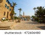 old jaffa  tel aviv  israel ... | Shutterstock . vector #472606480