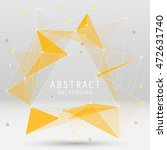 vector abstract background with ... | Shutterstock .eps vector #472631740