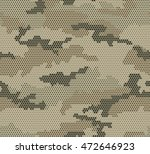 abstract camouflage seamless... | Shutterstock .eps vector #472646923