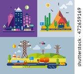 modern flat design conceptual... | Shutterstock .eps vector #472659169