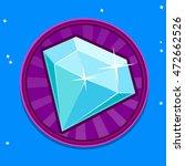 booster diamond icon for mobile ...