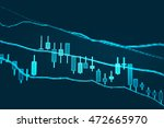 data analyzing in forex market... | Shutterstock . vector #472665970
