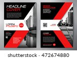 business brochure flyer design... | Shutterstock .eps vector #472674880
