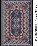 vintage luxurious oriental... | Shutterstock .eps vector #472675480