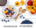 detox and healthy superfoods... | Shutterstock . vector #472695850