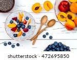 detox and healthy superfoods... | Shutterstock . vector #472695850