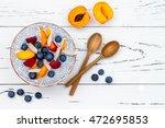 detox and healthy superfoods...   Shutterstock . vector #472695853